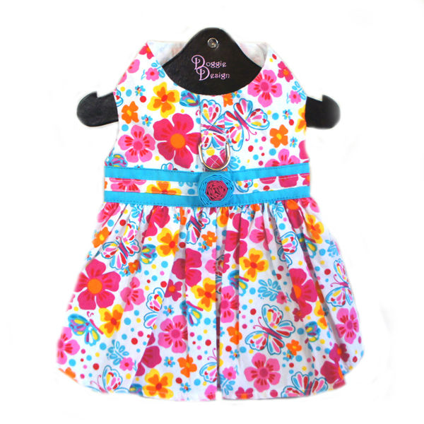 Fiesta Floral Dog Dress by Doggie Design