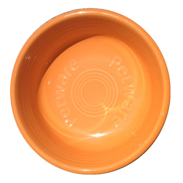 Fiesta Petware Dog Bowl - Tangerine