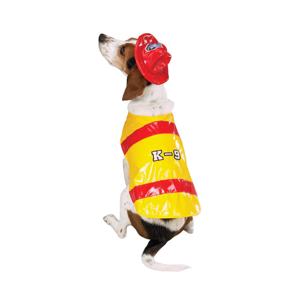 Fireman Dog Halloween Costume by Zack & Zoey