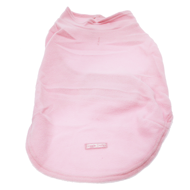 Fleece Dog Vest - Light Pink