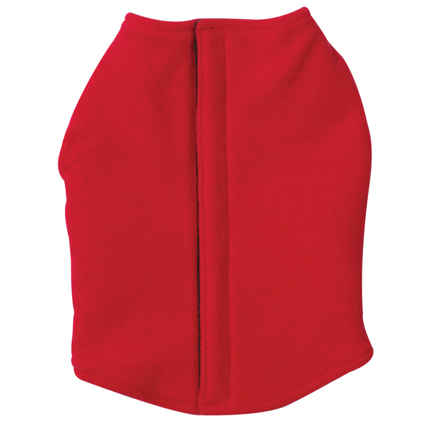 Fleece Vests with Ripstop Chests - Red