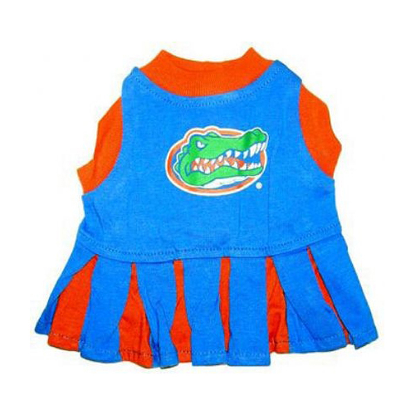 Florida Gators Cheerleader Dog Dress