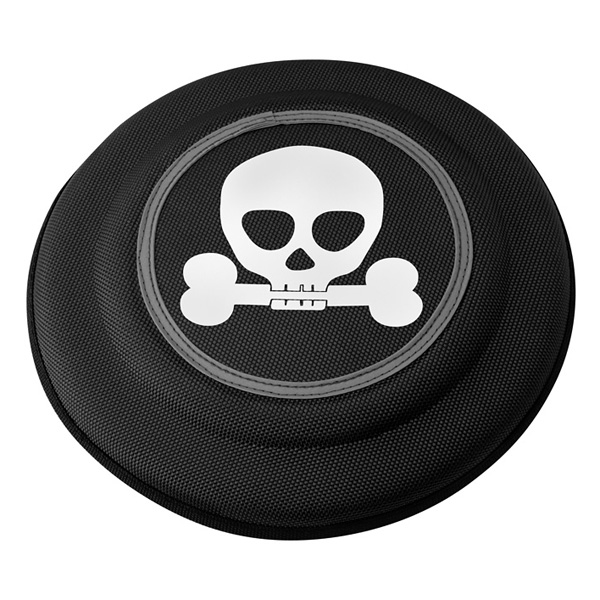 Flying Disks by Doggles - Black Skull