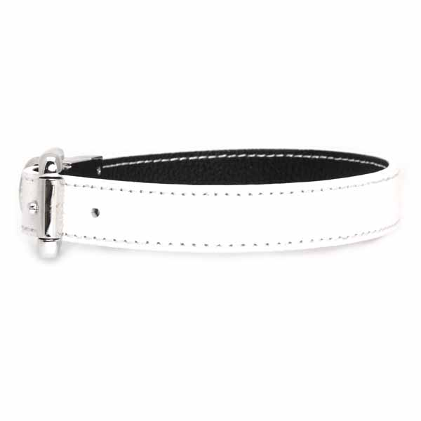 FouFou Reversible Dog Collar - Black/White