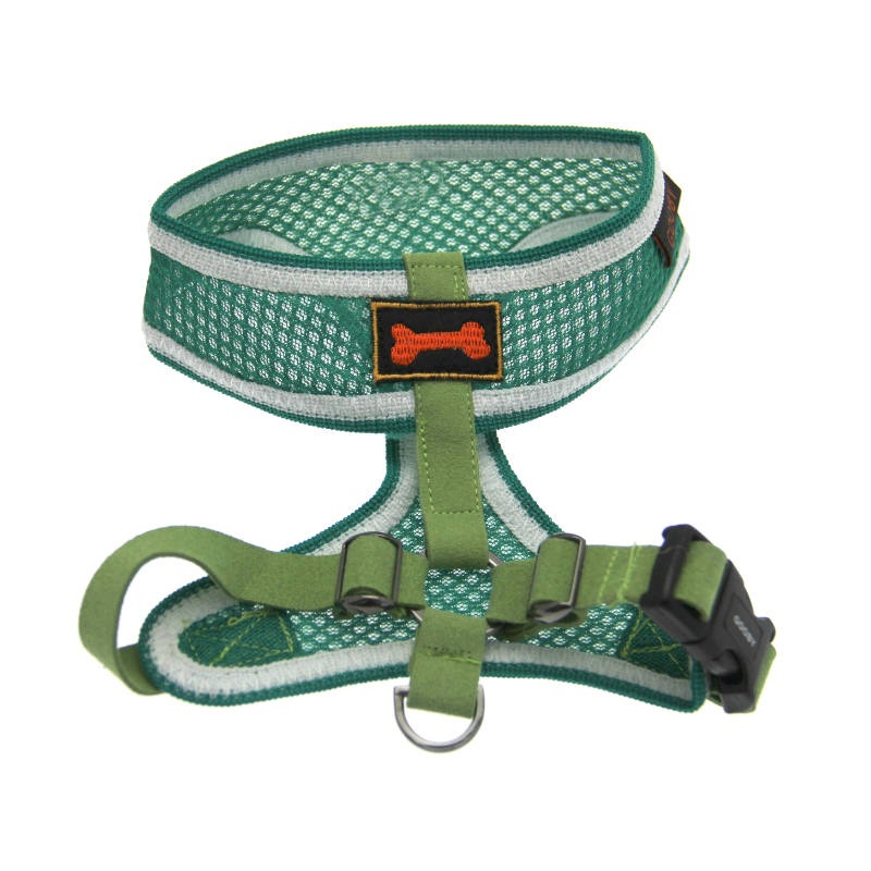 Freedom Sport Dog Harness by Gooby - Green/White