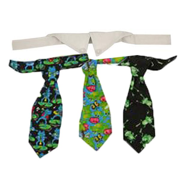 Frog Dog Tie Gift Set