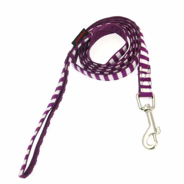 Frontier Dog Leash by Puppia - Purple