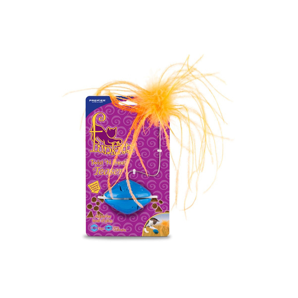 Funkitty Twist 'n Treat Teaser Cat Toy