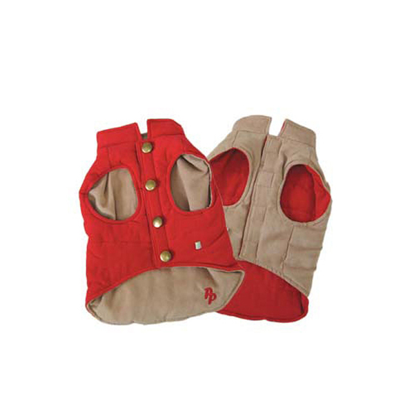 Gemini Reversible Vest by Dogo - Red