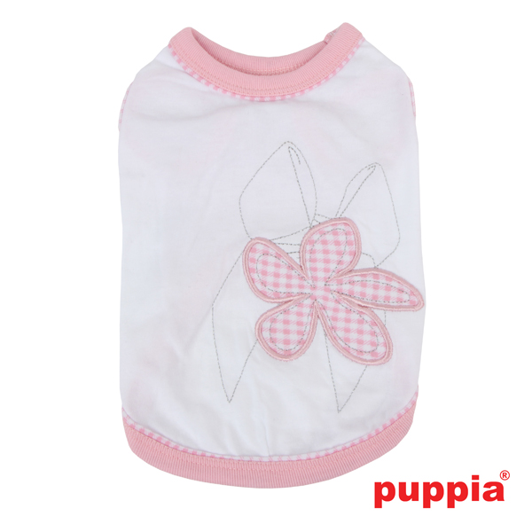 Geranium Dog Shirt by Puppia - Pink