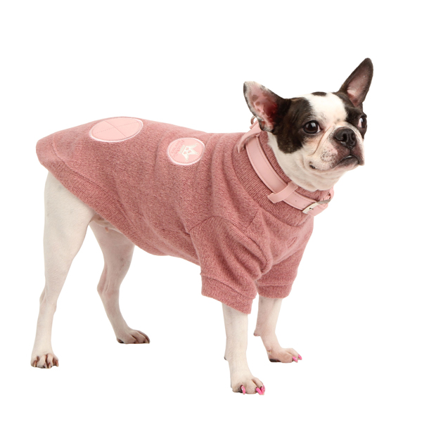 Giggles Dog Sweater by Pinkaholic - Pink