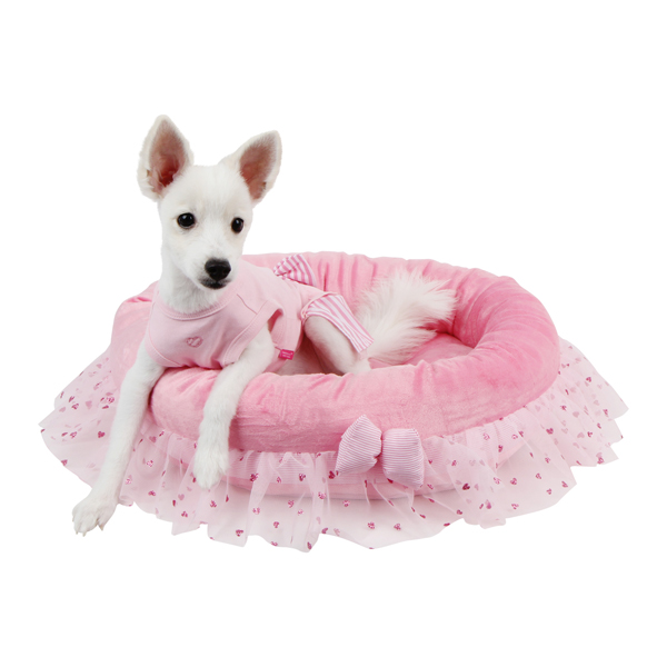 Glam Dog Bed by Pinkaholic - Pink