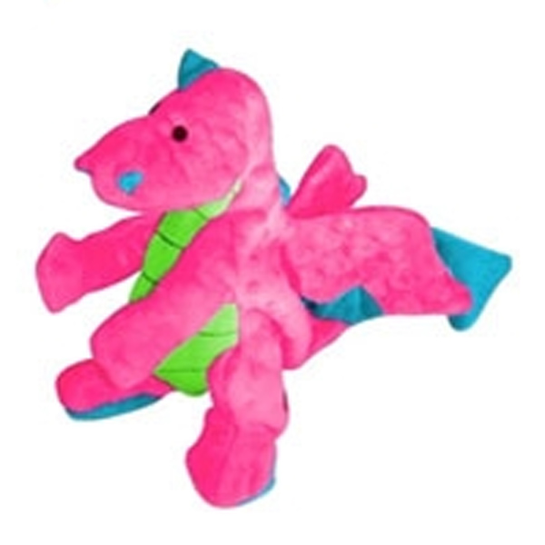 GoDog Dragons Dog Toy - Pink