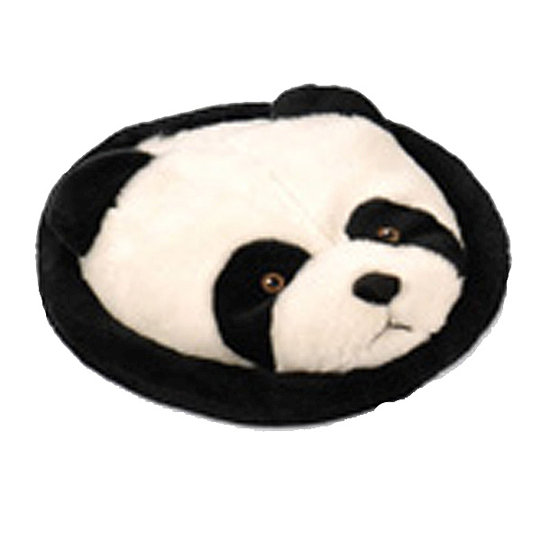 GoDog Furry Flyer Dog Toy - Panda