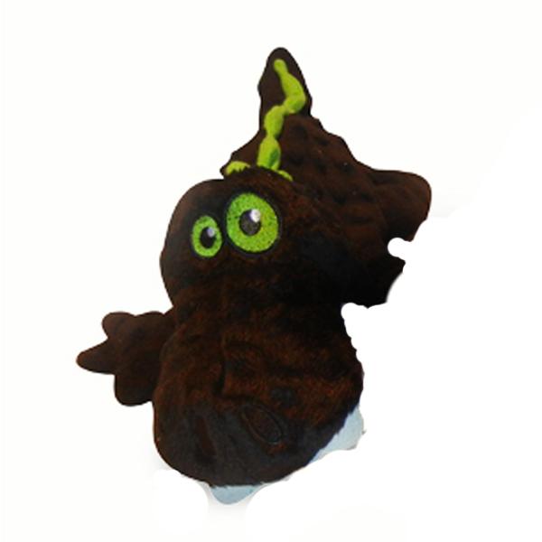 GoDog Gators Dog Toy - Black/Green