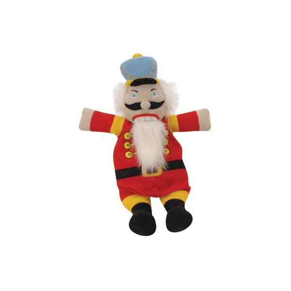 GoDog Nutcracker Flatty Dog Toy