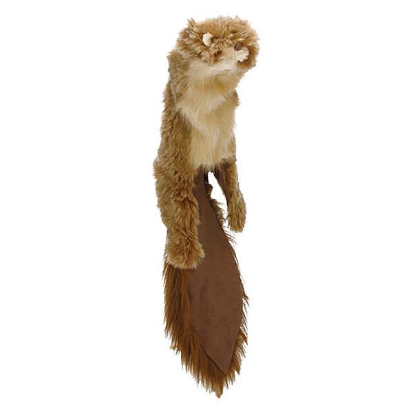 GoDog Roadkill Dog Toy - Squirrel