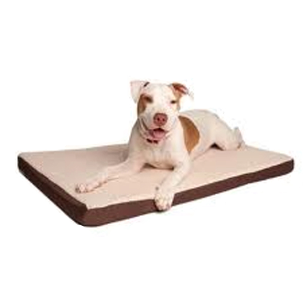 Great Paw Comfort Crate Memory Foam Dog Bed
