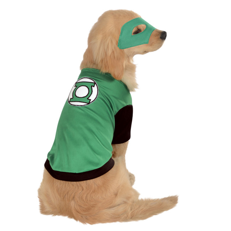 Green Lantern Dog Costume