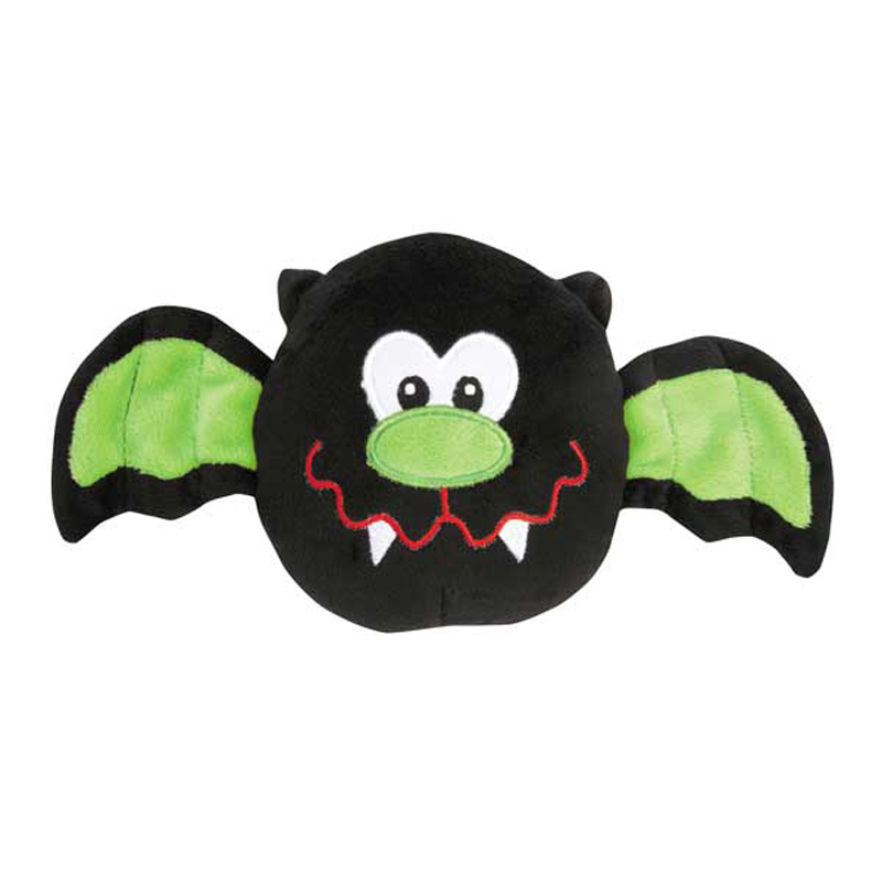 Grriggles Boo Bat Dog Toy - Green