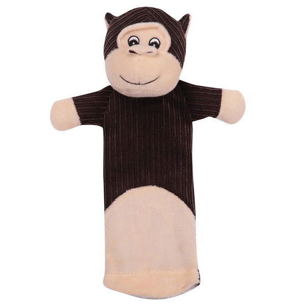 Grriggles Bottlebys Monkey Dog Toy