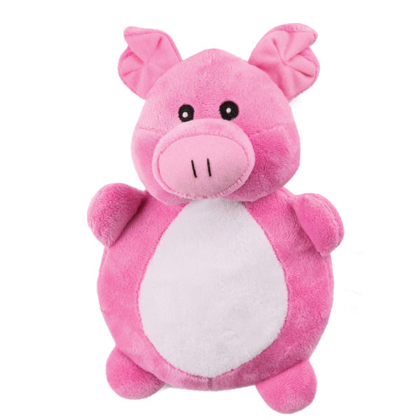 Grriggles Crinkleton Dog Toy - Pig