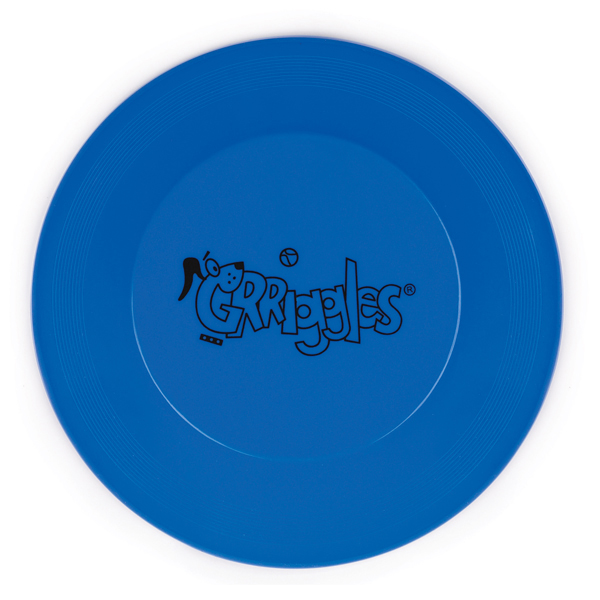 Grriggles Flying Disc Dog Toys - Bluebird