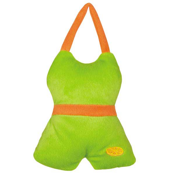Grriggles Fruit Frenzy Bathing Fruits Dog Toy - Jasmine Green