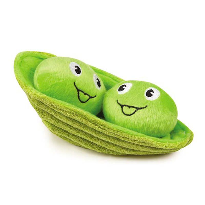Grriggles Garden Patch Dog Toy - Two Peas in a Pod