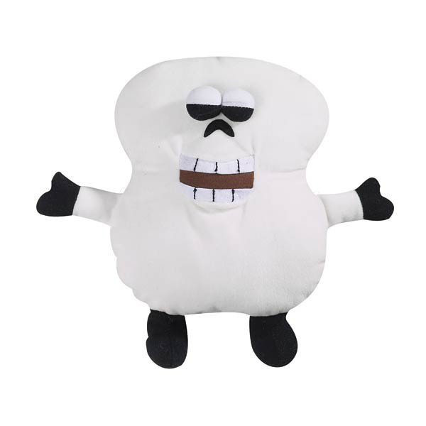 Grriggles Ghoulie Grunters for Large Dogs - Ghost