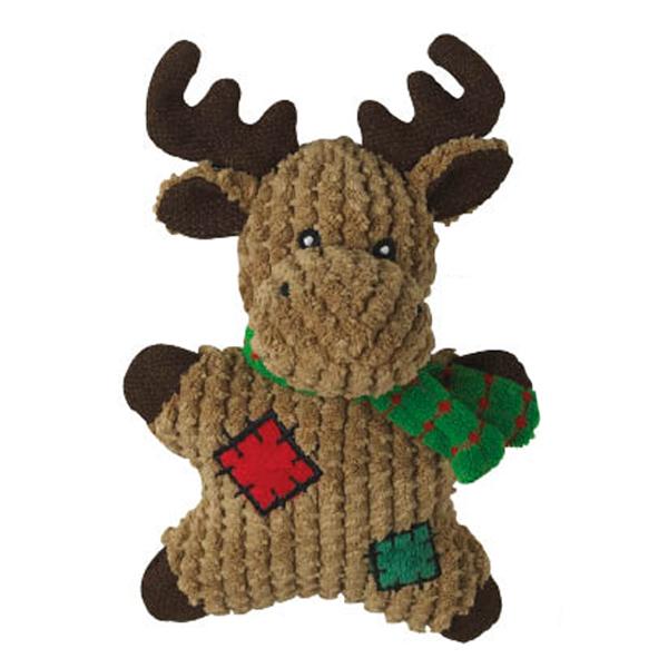 Grriggles Gingerbread Squeakies Dog Toy - Moose