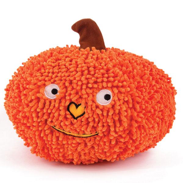Grriggles Gruntin' Pumpkin Halloween Dog Toy