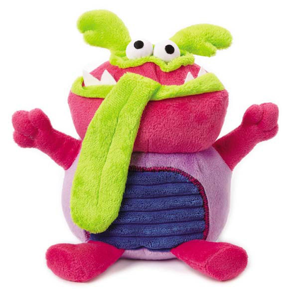 Pink Dog Toy : Grriggles grunting buglies dog toy pink baxterboo
