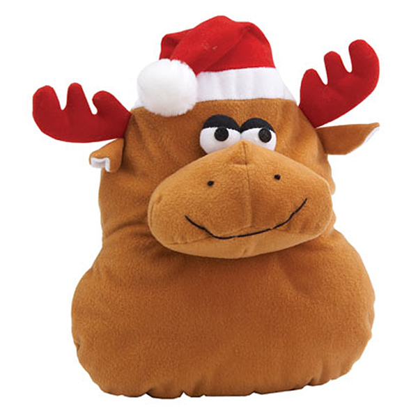 Grriggles Holiday Grunters for Large Dogs - Reindeer