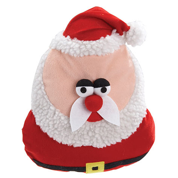 Grriggles Holiday Grunters for Large Dogs - Santa