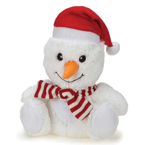 Grriggles Jolly Snugglers Dog Toy - Snowman