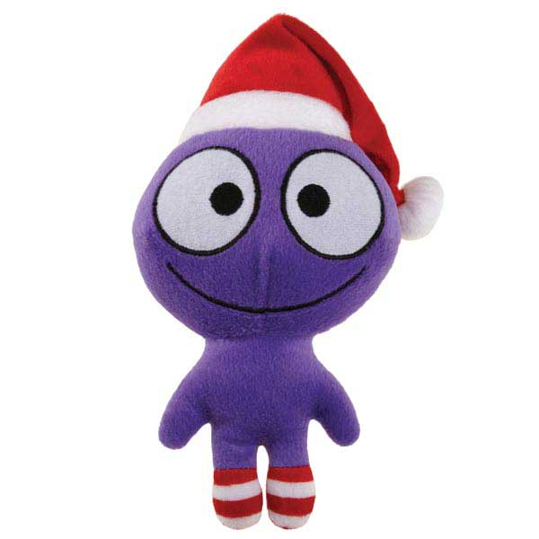 Grriggles Merry Martians Dog Toy - Purple