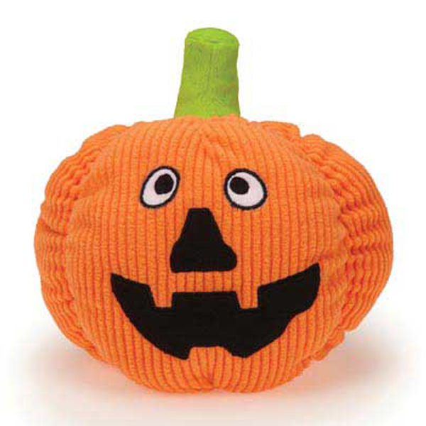 Grriggles Playful Pumpkin Dog Toy - Jack