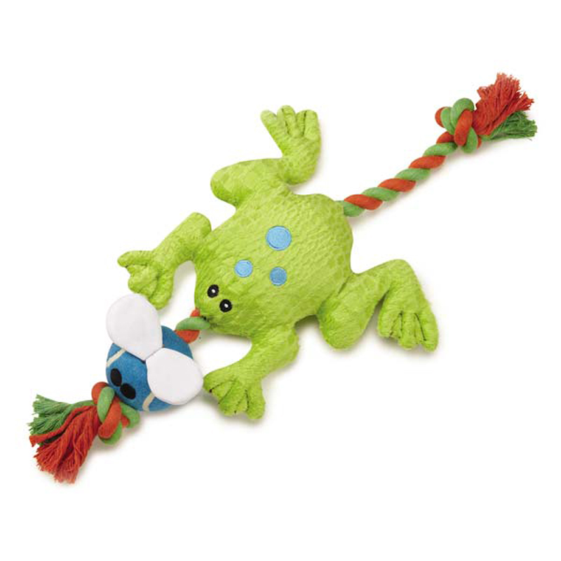 Grriggles Puddle Pal Dog Toy - Frog