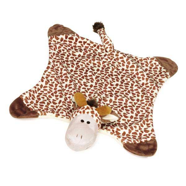 Grriggles Savannah Snugglers Dog Toy - Giraffe