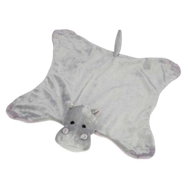 Grriggles Savannah Snugglers Dog Toy - Hippo