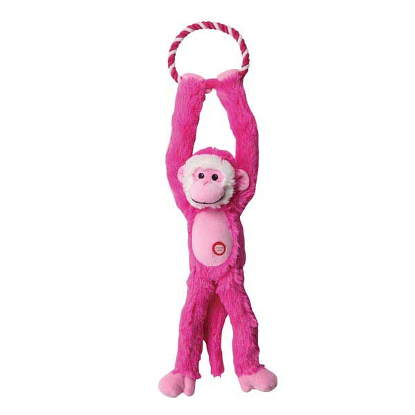 Grriggles Treetop Swinger Dog Toy - Pink