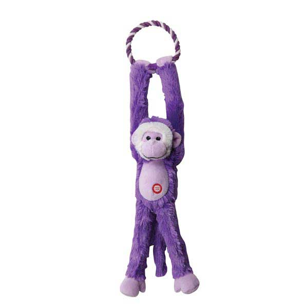 Grriggles Treetop Swinger Dog Toy - Purple