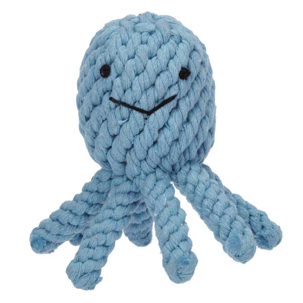 Grriggles Under the Sea Rope Dog Toy - Octopus