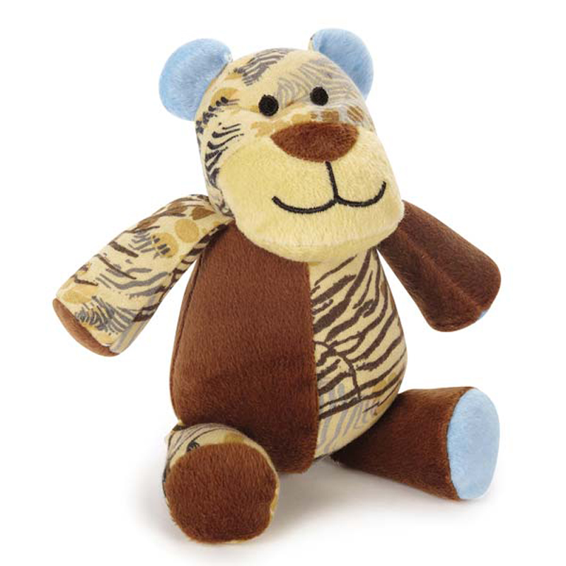 Wild Savannah Animal Dog Toy - Tiger