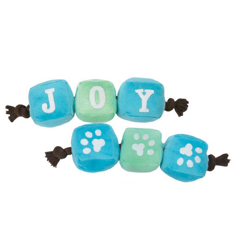 Grriggles Winter Lights Tug Dog Toy - Joy