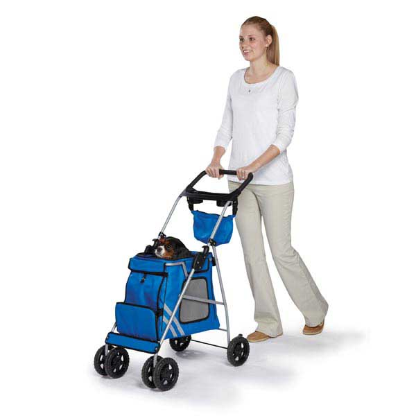 Guardian Gear Classic II Dog Stroller - Royal Blue
