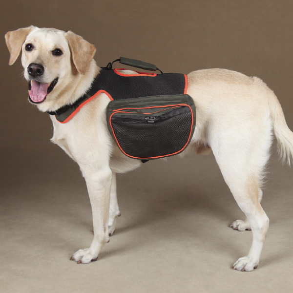 Guardian Gear Dog Backpack - Green