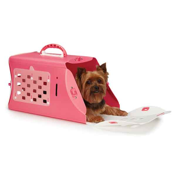Guardian Gear Fresh Color-Me Pet Crate - Pink Flamingo
