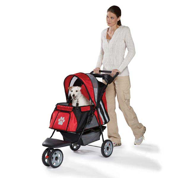 Guardian Gear Roadster II Dog Stroller - Red